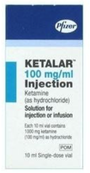 Ketamine 100mg per ml